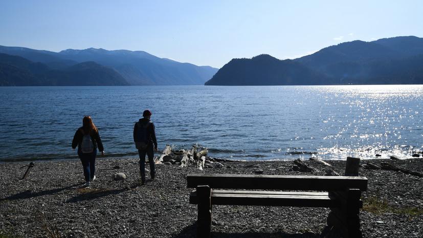 На Алтае создали туристический маршрут по дну Телецкого озера