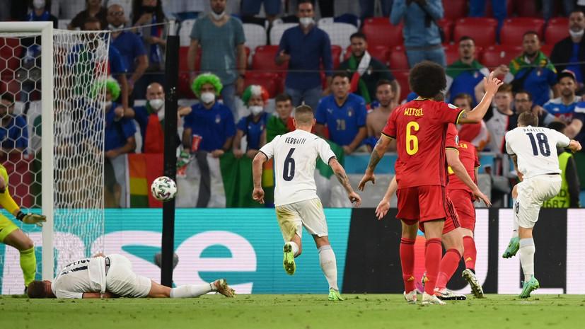 Барелла впервые забил за Италию на Евро-2020