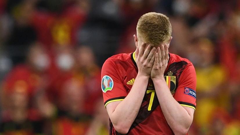 Де Брёйне: это чудо, что я сегодня сыграл, жаль, что большего сделать просто не смог