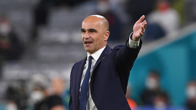 Мартинес прокомментировал поражение Бельгии от Италии в 1/4 финала Евро-2020