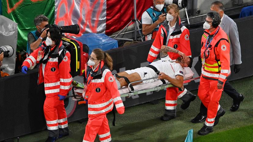 СМИ: Футболист сборной Италии Спинаццола получил разрыв ахилла в матче с Бельгией