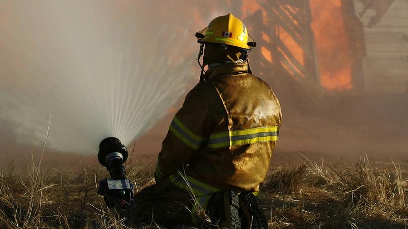 В Канаде при пожаре в жилом доме скончались семь человек