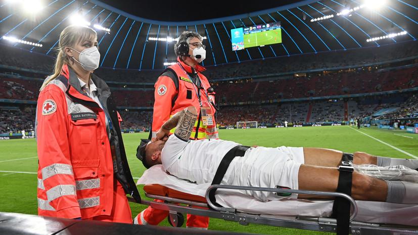 Манчини высказался о травме Спинаццолы в матче с Бельгией