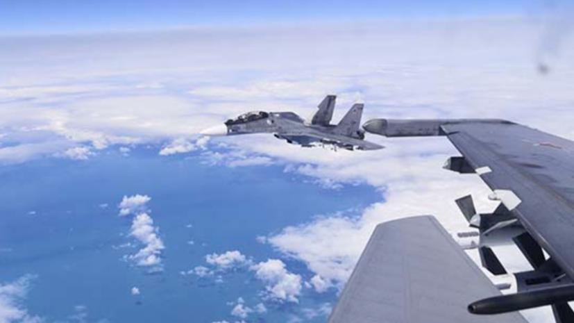 Российская авиация провела учебно-боевые полёты над Чёрным морем