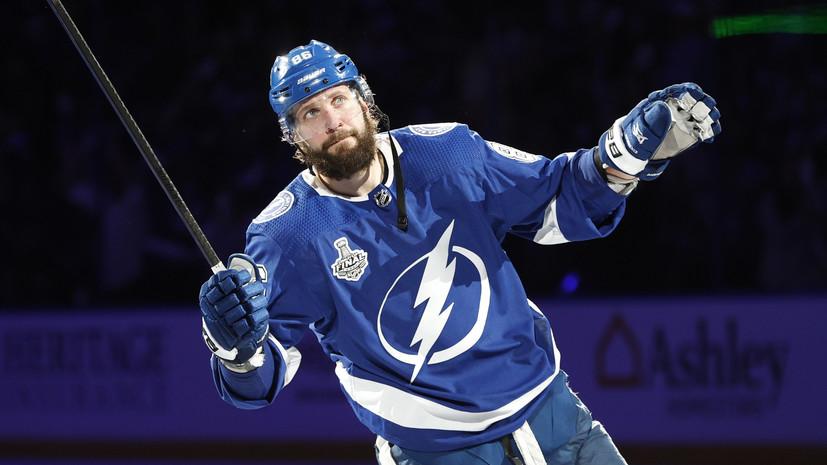 Кучеров обошёл Буре ивышел на четвёртое место в НХЛ по очкам в одном плей-офф среди россиян