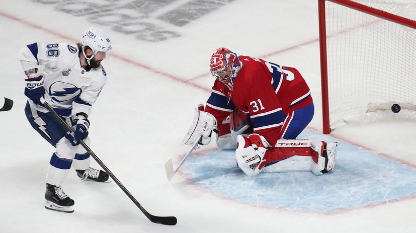 Кучеров признан второй звездой третьего матчафинала Кубка Стэнли с«Монреалем»
