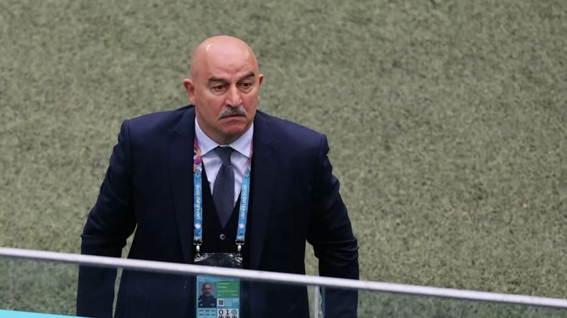 Песков ответил на вопрос о возможной отставке Черчесова из сборной России
