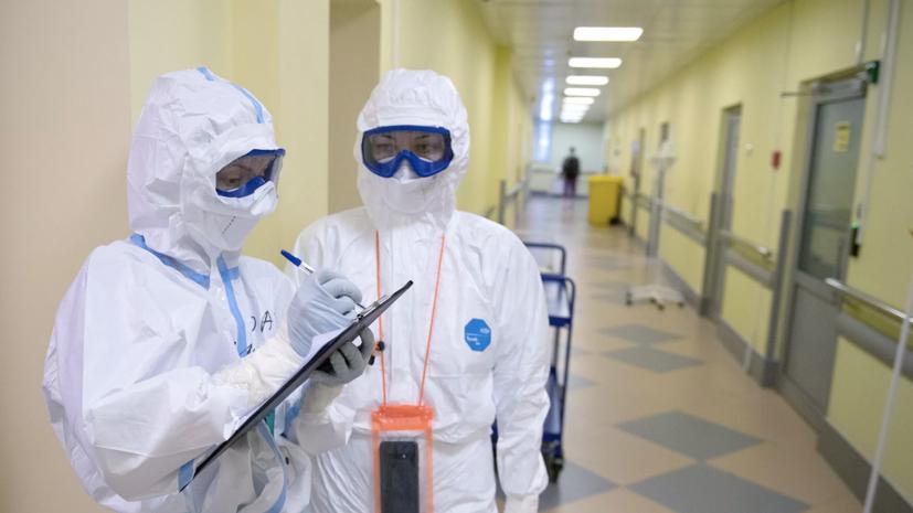В Москве за сутки выявлено 7446 случаев COVID-19