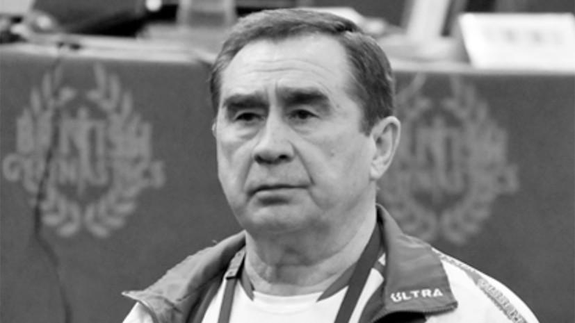 Скончался заслуженный тренер СССР по спортивной гимнастике Остапенко