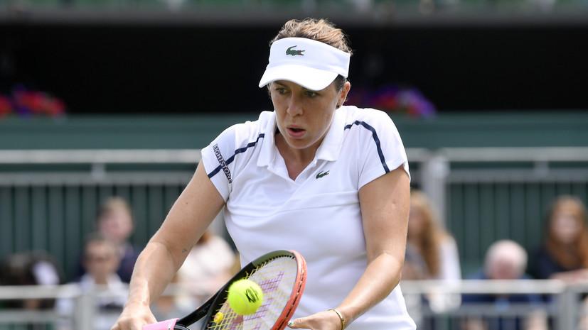 Павлюченкова проиграла Муховой в третьем круге Уимблдона