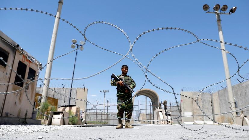 Khovar: 300 афганских военных отступили в Таджикистан после боёв с талибами