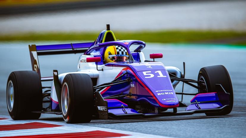 Сидоркова финишировала второй на этапе W Series в Австрии