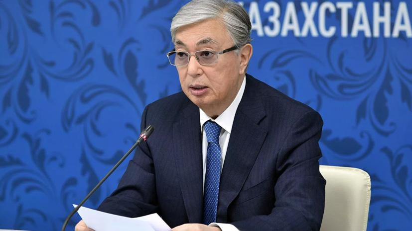 Токаев высказался о всеобщей вакцинации в Казахстане