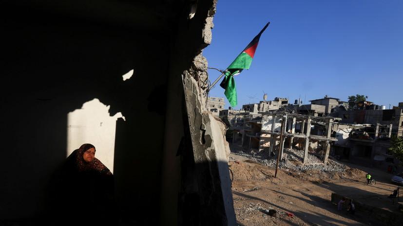 Израиль нанёс удары по объектам ХАМАС