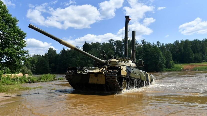 «Манёвром и огнём»: как «подводные марши» усиливают потенциал российских танковых войск0