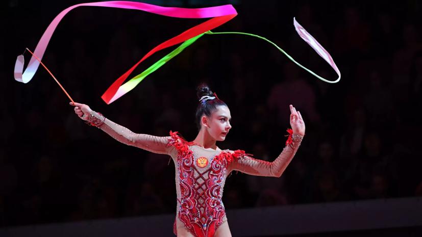 Гимнастка Крамаренко выиграла серебро и бронзу на этапе Кубка вызова в Белоруссии