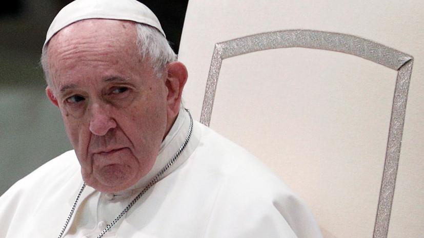 Папе Римскому проведут плановую операцию