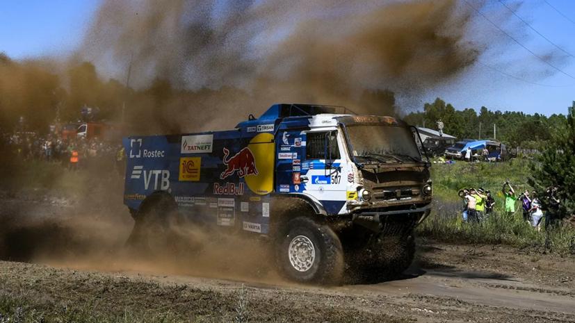 Каргинов одержал победу на третьем этапе ралли «Шёлковый путь»