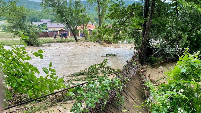 Уровень воды в реке Бельбек в Крыму повысился почти на 2,5 метра