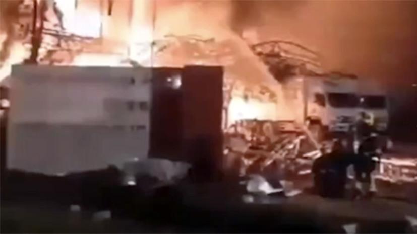В Таиланде произошёл взрыв на химическом заводе