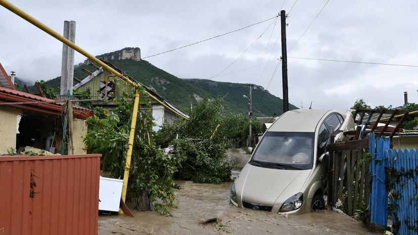 В Крыму начались работы по устранению последствий паводка
