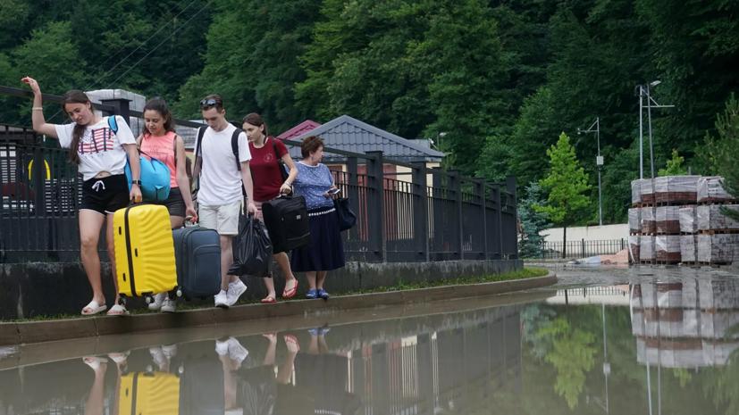 Спасатель напомнил о правилах поведения в случае наводнения