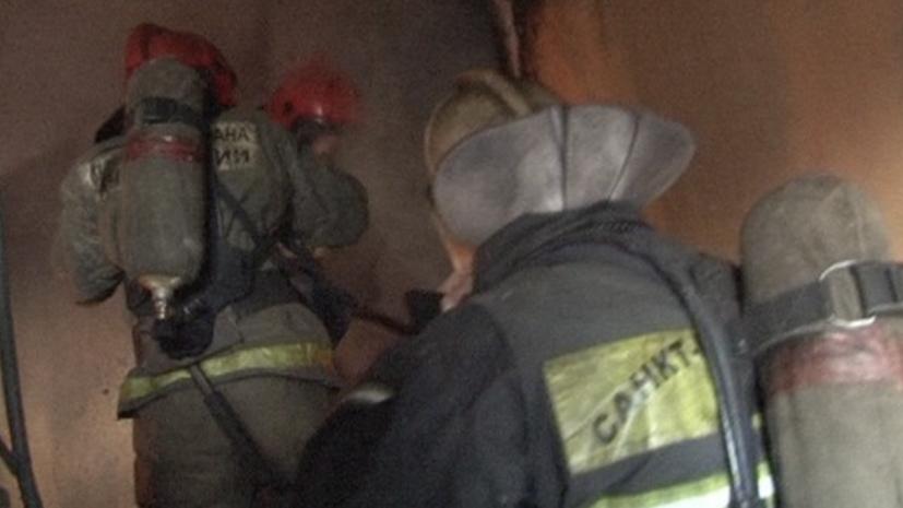 В отеле в центре Петербурга произошёл пожар