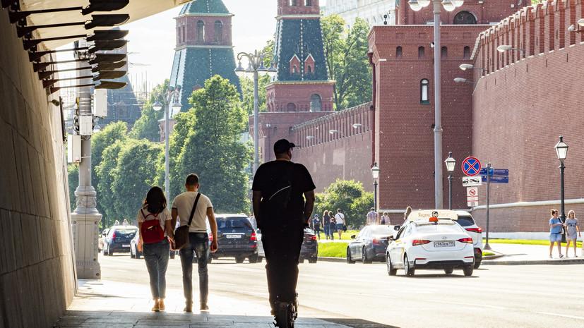 В Москве 6 июля ожидается до +28 °С