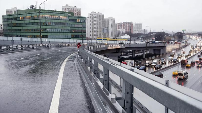 В Подмосковье оценили работу по уборке вылетных магистралей