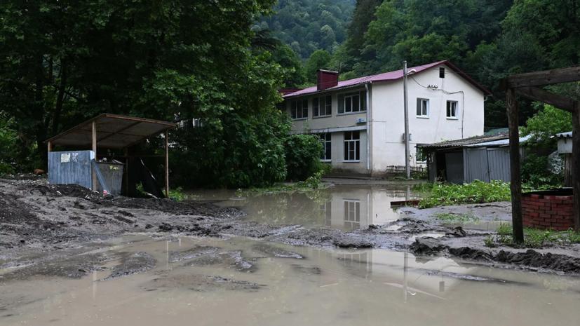 В Туапсинском районе из-за подтоплений погибли три человека