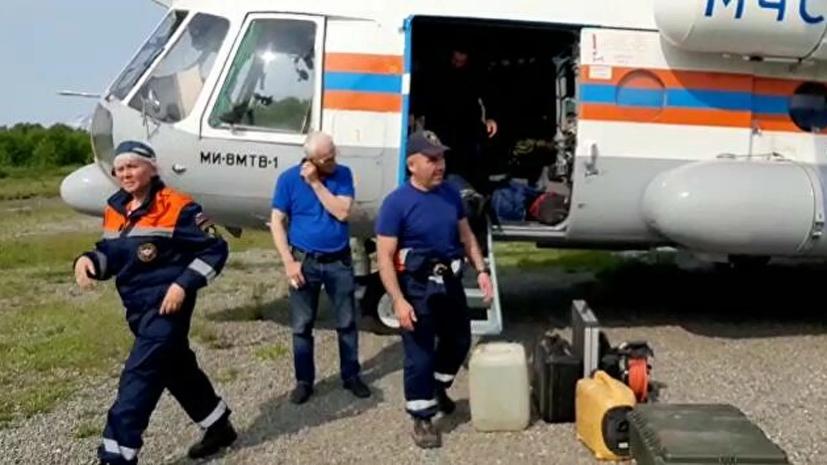 Поиски обломков Ан-26 на Камчатке приостановлены до утра