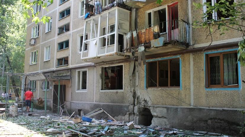 «Снаряд разорвался в трёх метрах»: житель Донецка винит украинскую армию в гибели отца