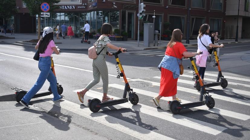 «Велодорожка должна быть неотъемлемой частью инфраструктуры»: в Москве под самокаты разработают законодательную базу