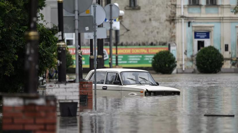 В Крыму рассказали о компенсациях за ущерб имуществу в результате подтоплений