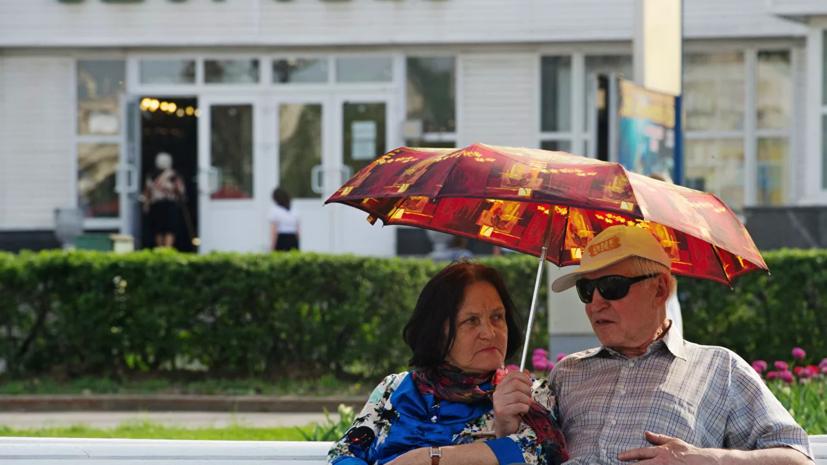 Врач рассказала о мерах безопасности для пожилых людей в жаркую погоду