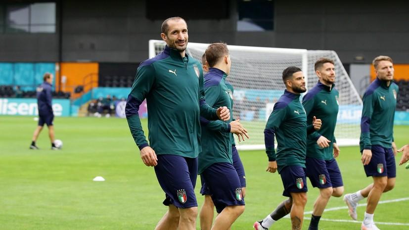 Кьеллини стал первым футболистом в истории Евро, сыгравшим пять раз с одним соперником