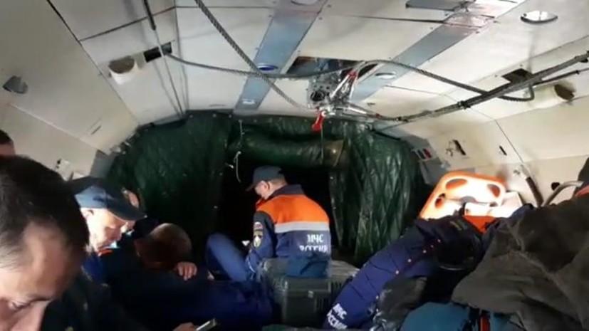 На Камчатке возобновились поиски на месте крушения Ан-26