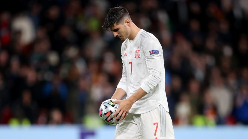 Мората — о проигрыше Испании на Евро-2020: она заслужила гораздо большего