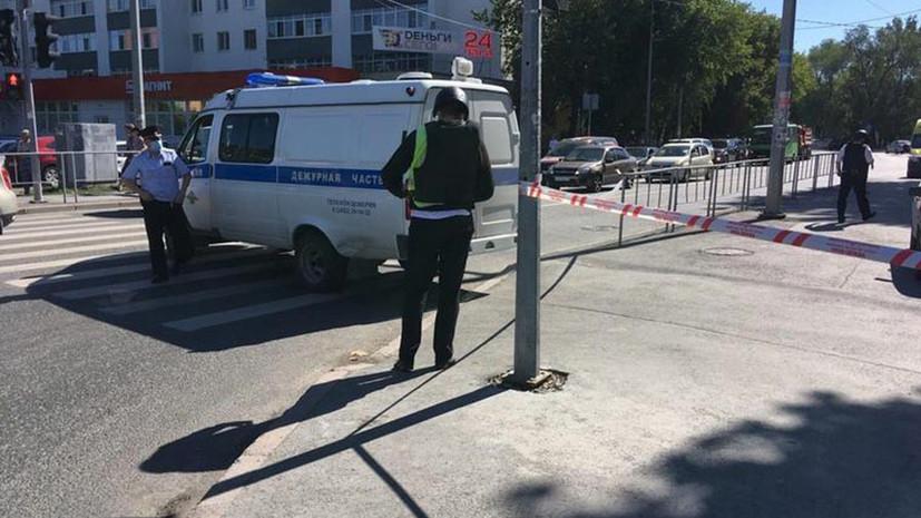 Захватчик банка в Тюмени заявил, что в его сумке «опасный предмет»