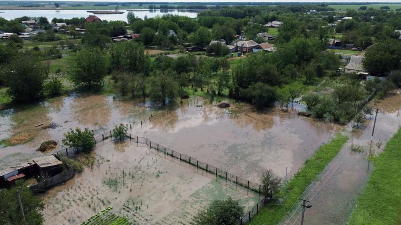 Число погибших в результате подтоплений на Кубани возросло до восьми
