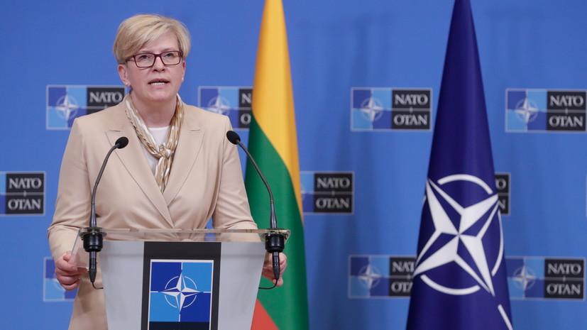 Литва построит стену на границе с Белоруссией из-за мигрантов
