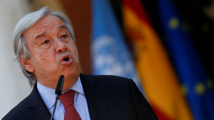 Генсек ООН призвал жителей Гаити воздержаться от насилия
