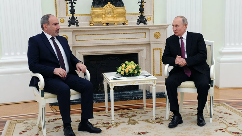 Путин лично поздравил Пашиняна с результатами выборов