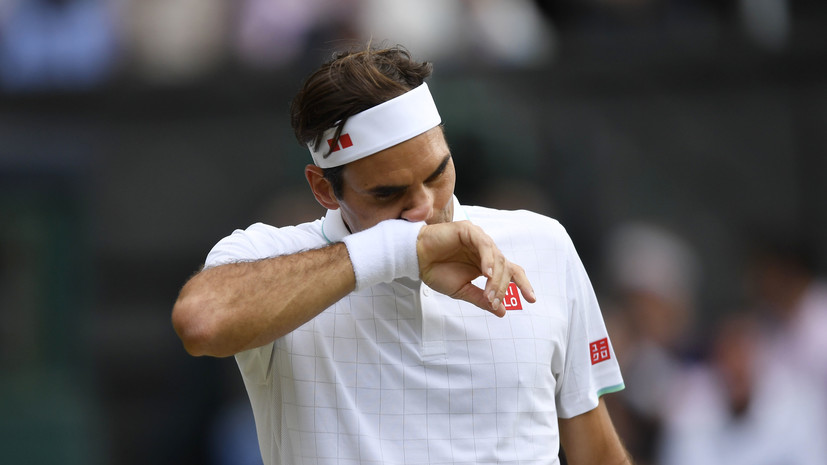 Федерер сенсационно проиграл Хуркачу в четвертьфинале и вылетел с Уимблдона