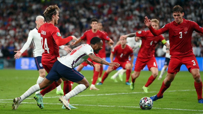 Маккели назначил пенальти в ворота Дании на 102-й минуте