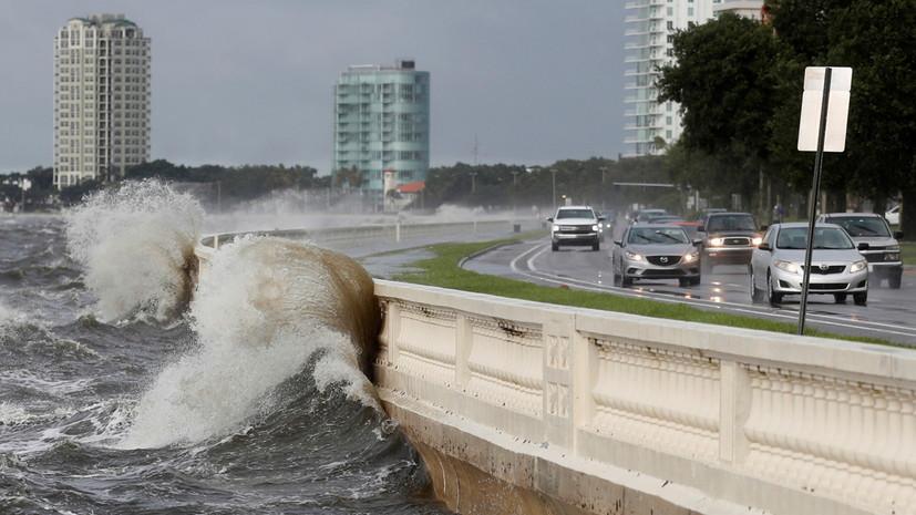 Один человек погиб из-за обрушившегося на Флориду шторма «Эльза»