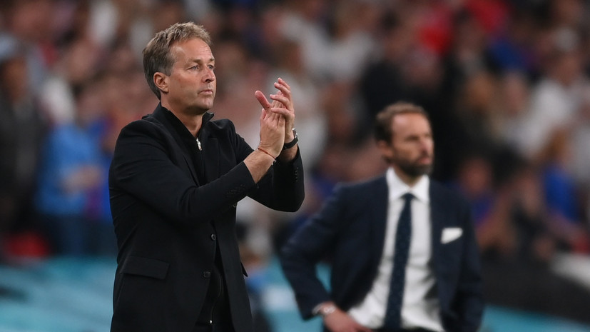 Юльманн заявил, что перед пенальти в ворота сборной Дании на поле было два мяча