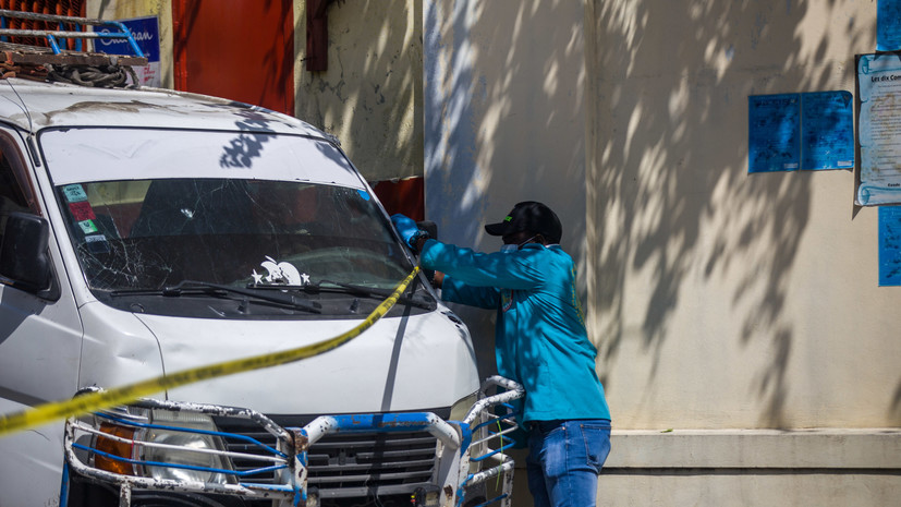 На Гаити заявили о задержании возможных убийц президента страны