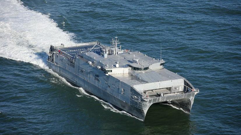 Корабль ВМС США Yuma направился в Чёрное море