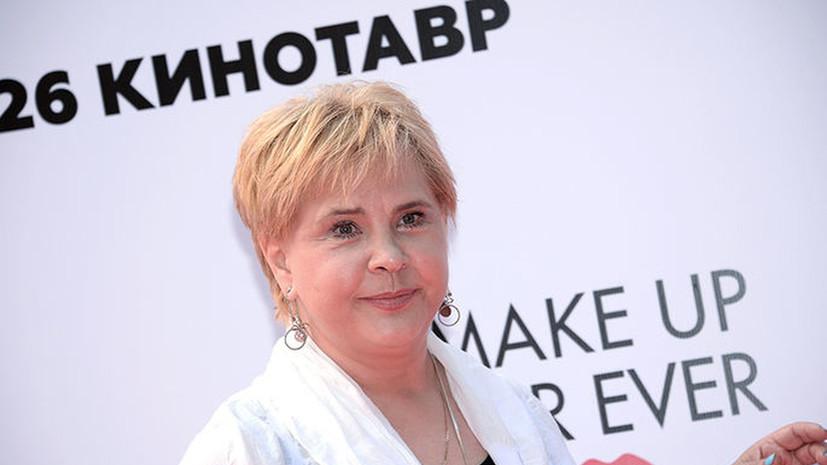 Актриса Татьяна Догилева госпитализирована с COVID-19
